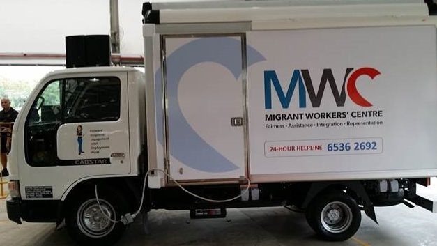 The Migrant Workers' Centre is all ready to roll out a new mobile office to reach out to more foreign employees all across the island.