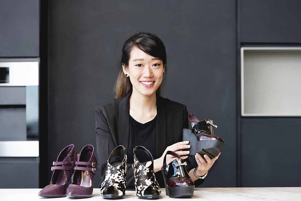 Nicole Chin at Charles & Keith Group Headquarters