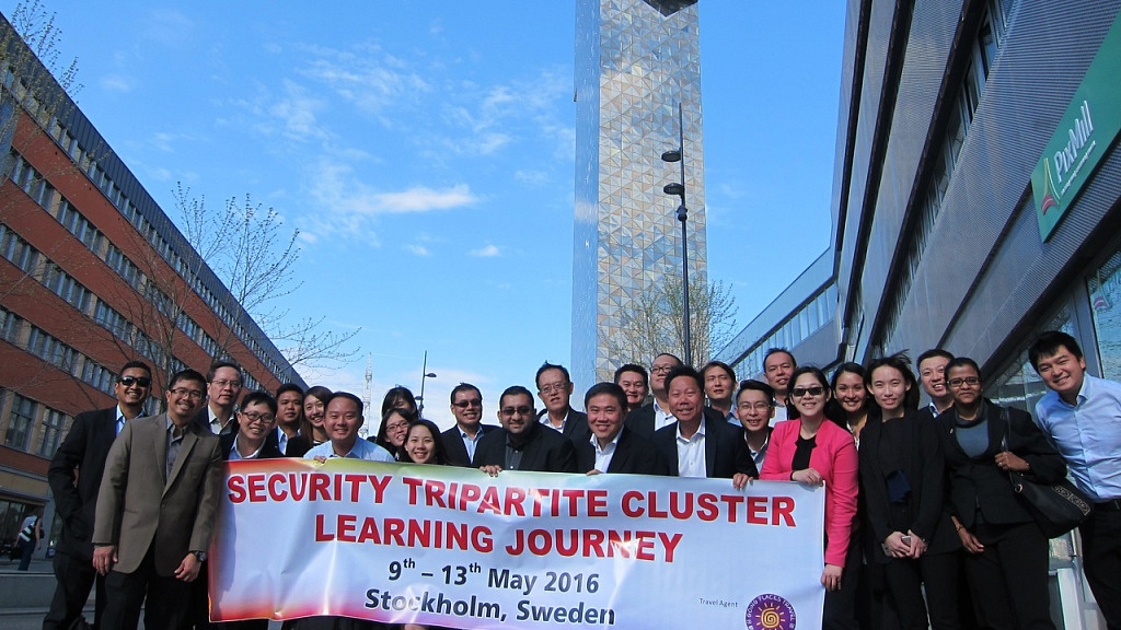 Security Tripartite Learning Journey