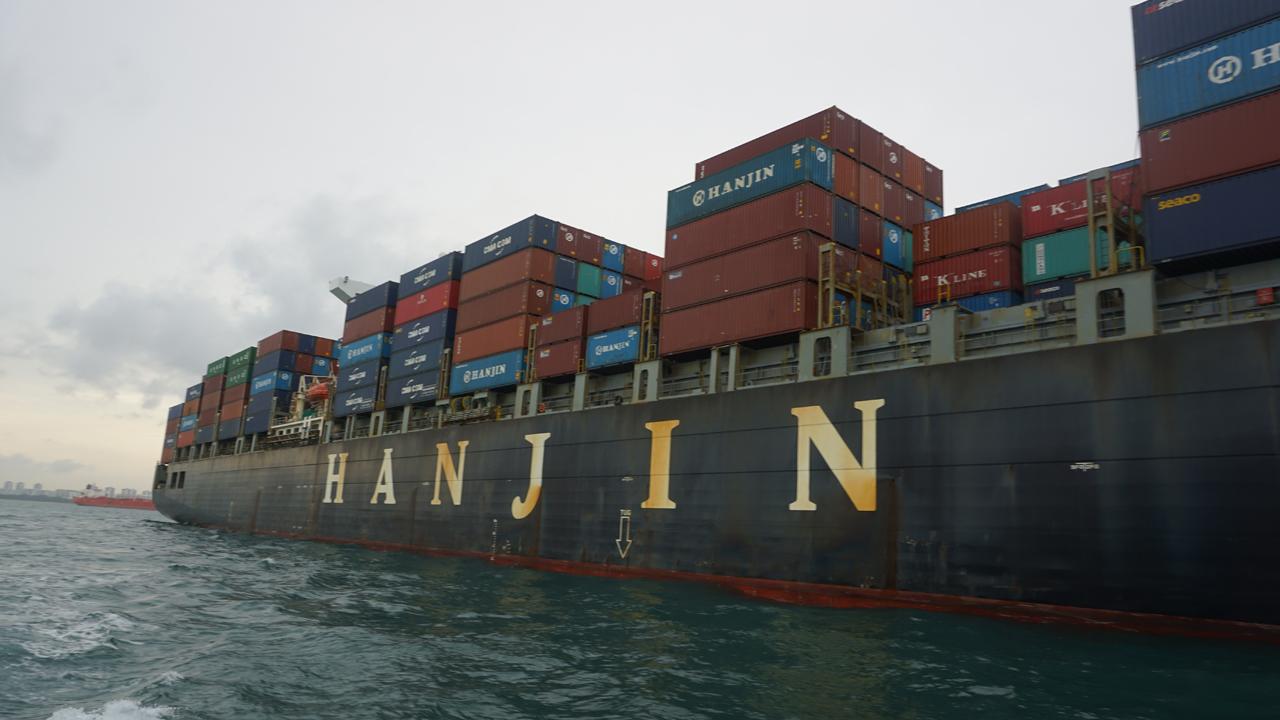Hanjin Rome - Onboard the Floating Prison