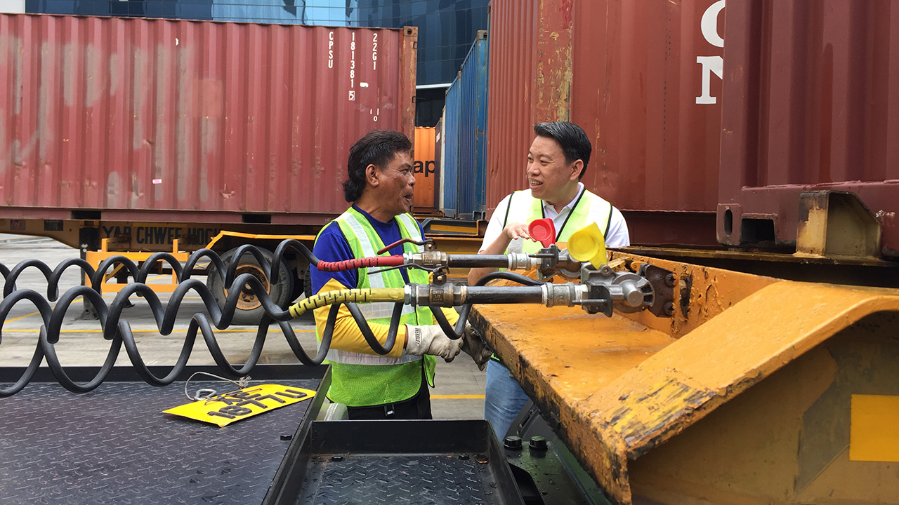 Melvin Yong: The Men Behind Optimus Prime