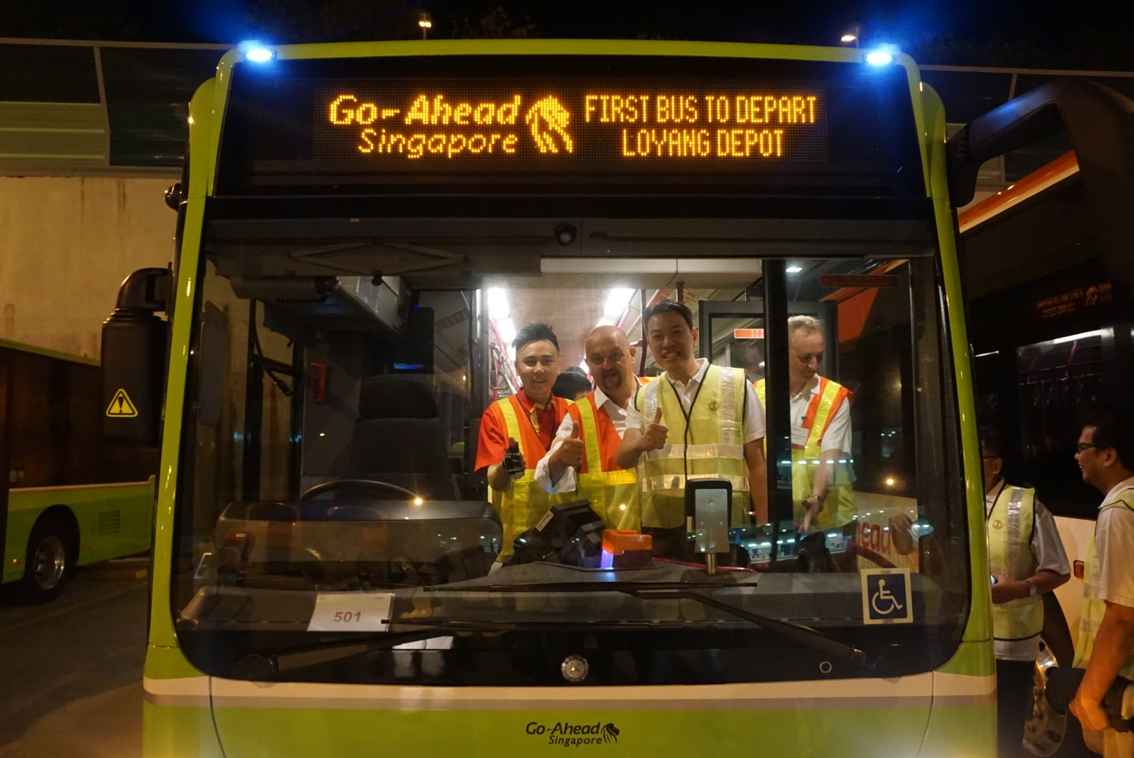 While most of us are still asleep, our bus captains are already up before sunrise, to commence the first bus services at the various bus interchanges.