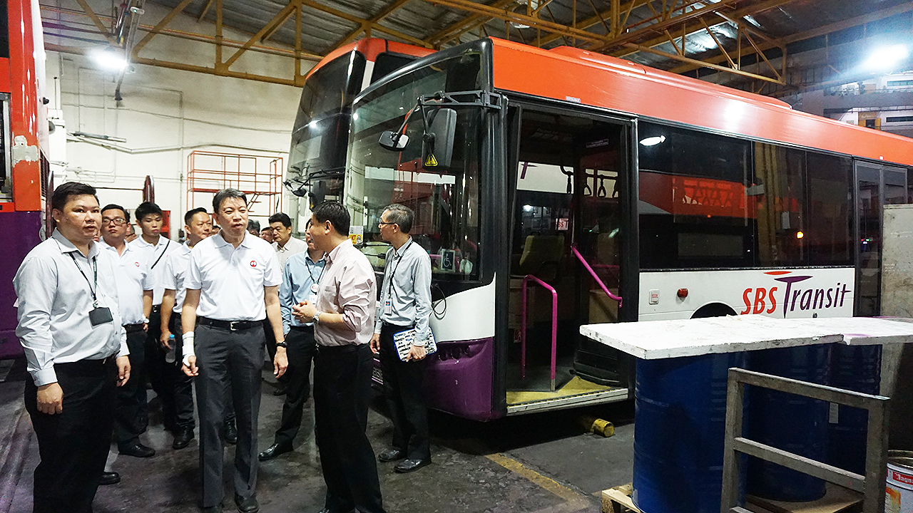 The National Transport Workers' Union (NTWU) is working closely with the LTA and the public bus operators to improve the stability of the systems.