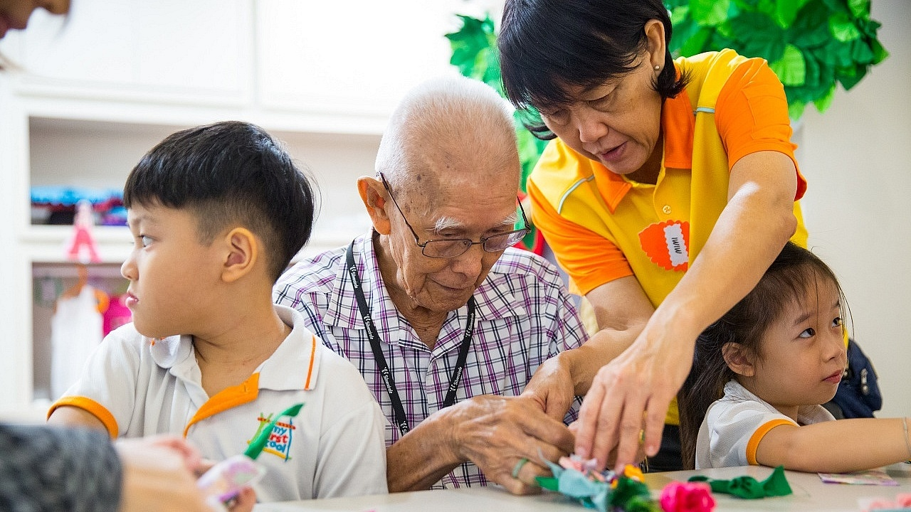 NTUC Health and NTUC First Campus Inter-Generational Programme