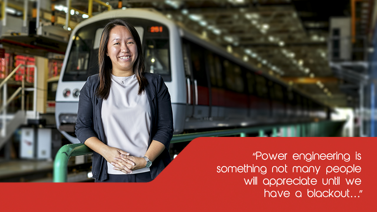 SMRT Engineer Edelene Ee