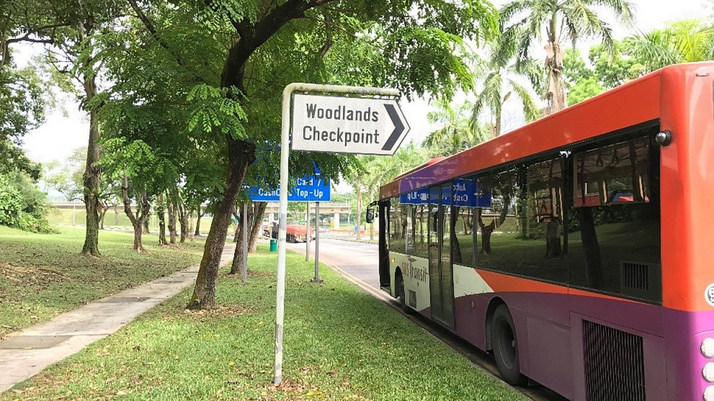 Service 170X parking at the curbside on Woodlands Road for our bus captains' break, with no amenities nearby for them to utilise. (Photo Source: NTWU)