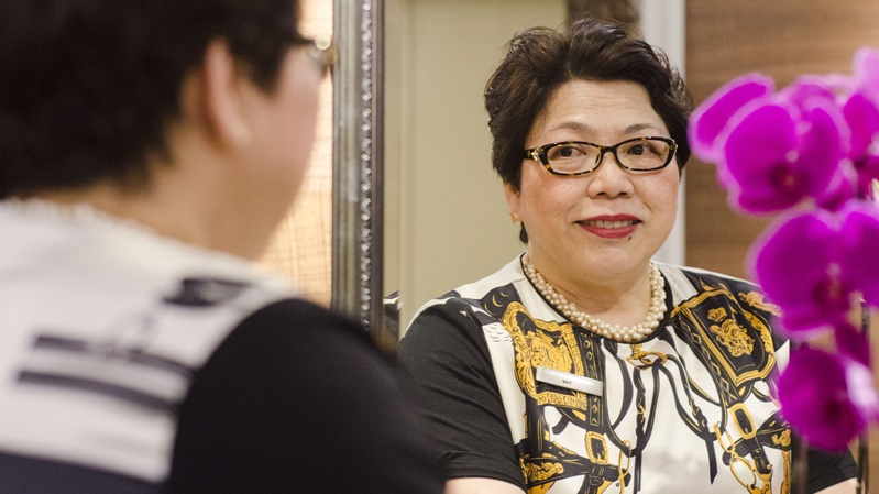 Executive Housekeeper Judy Tan