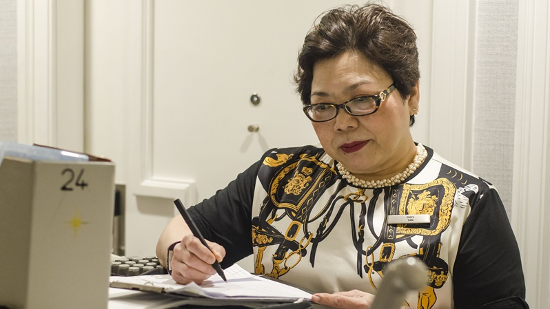 Executive Housekeeper, JudyTan