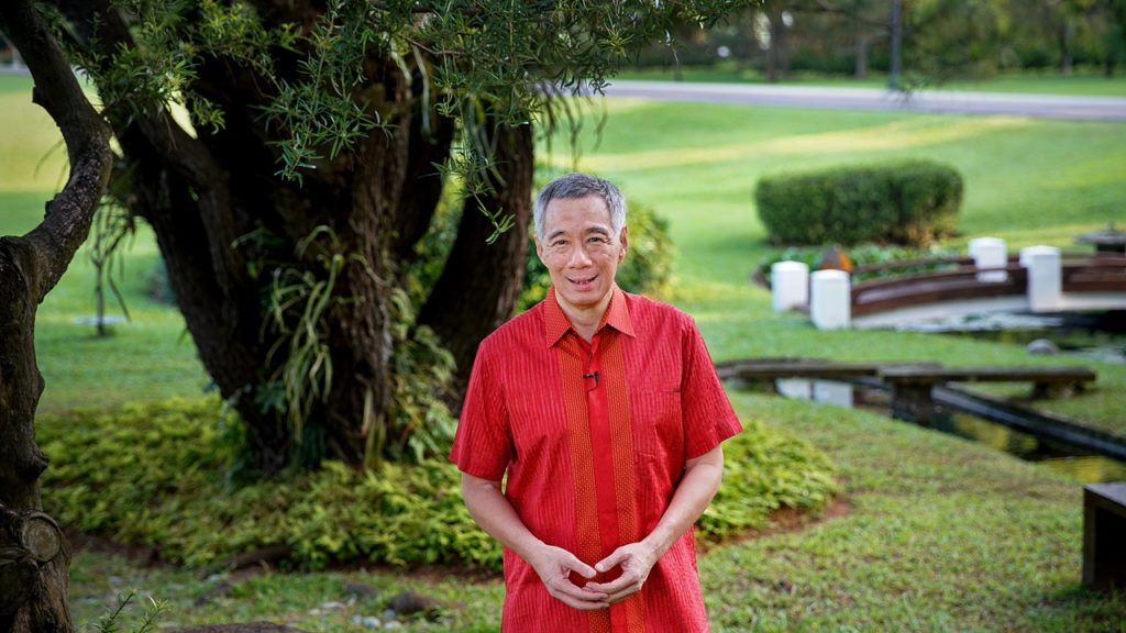 PM Lee 2018 New Year Message