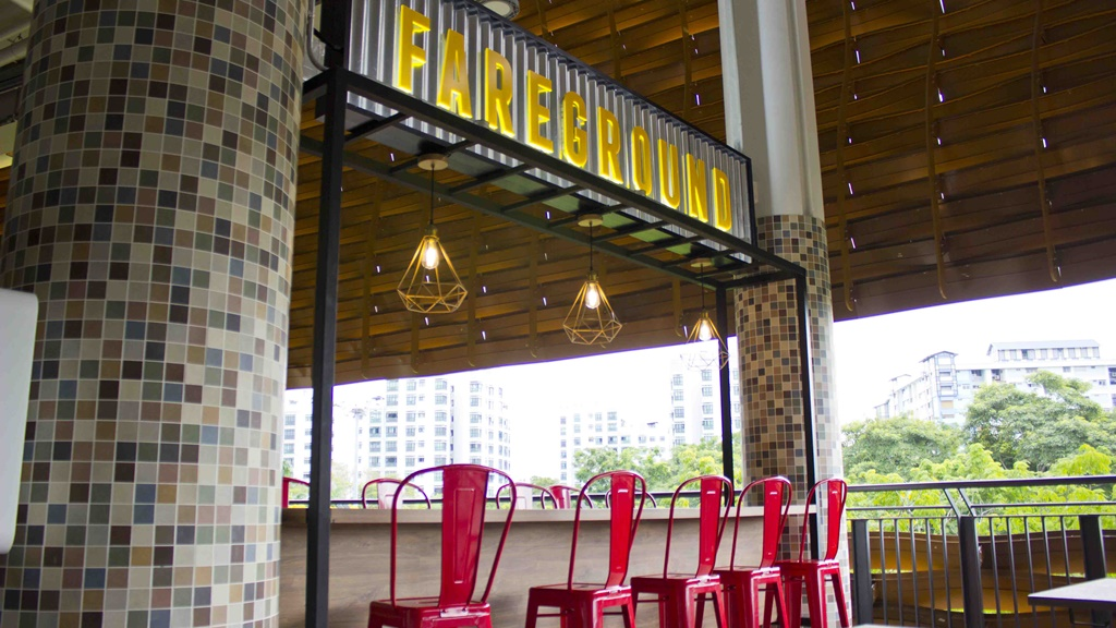 Chic Settings at Pasir Ris Central Hawker Centre