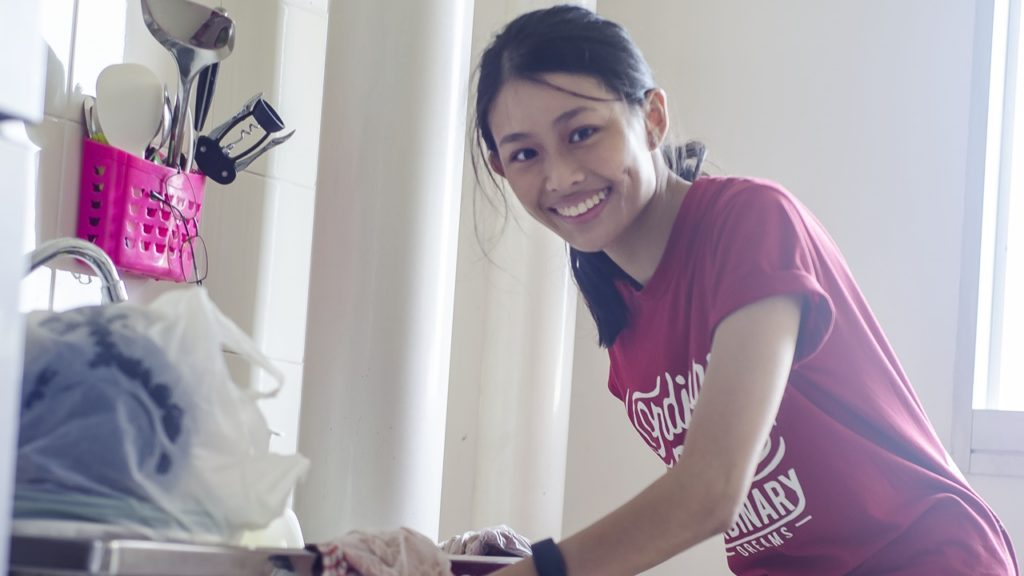 volunteerism is part of Vera Soh's life
