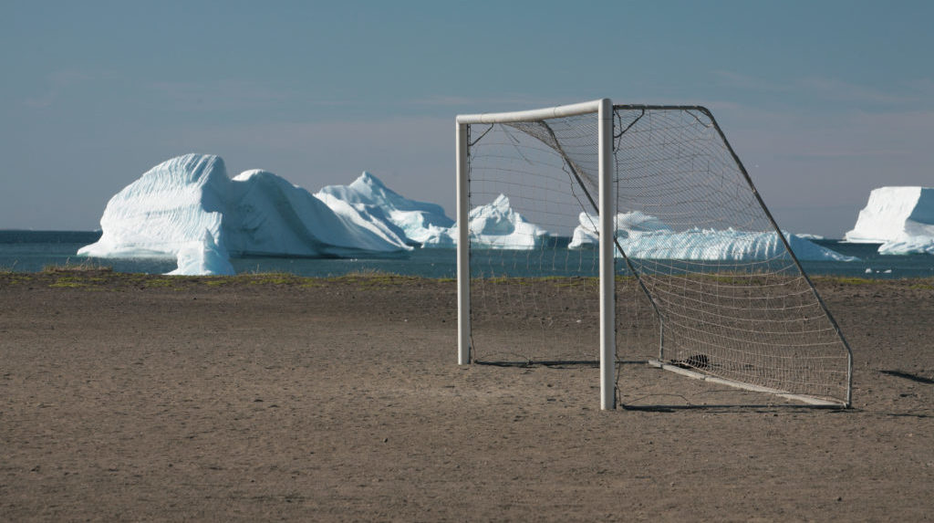 Goalpost in the Arctic
