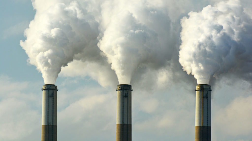 Carbon emission is one of the main causes of global warming.