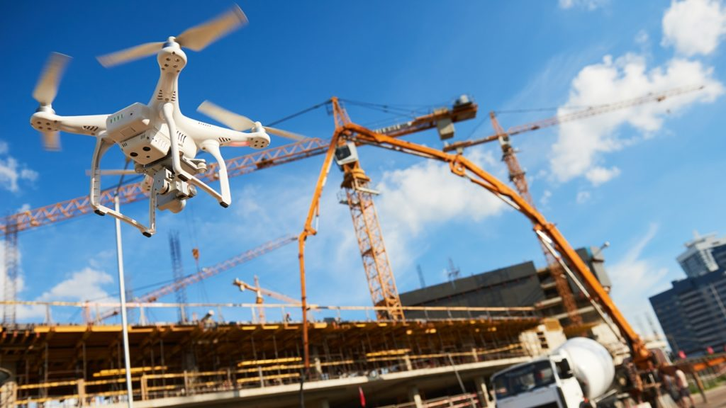 drones in construction