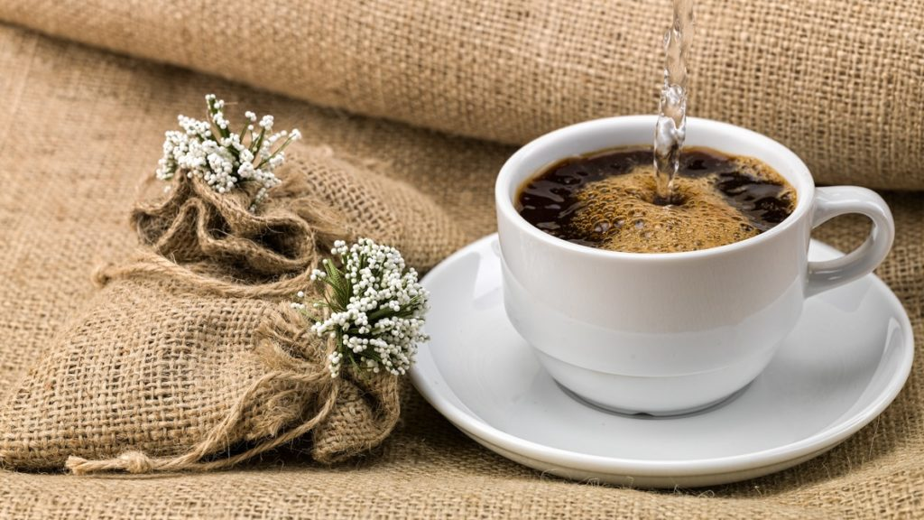 Coffee helps maintain alertness
