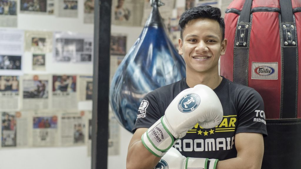 Boxer Muhamad Ridhwan is preparing for this IBO fight