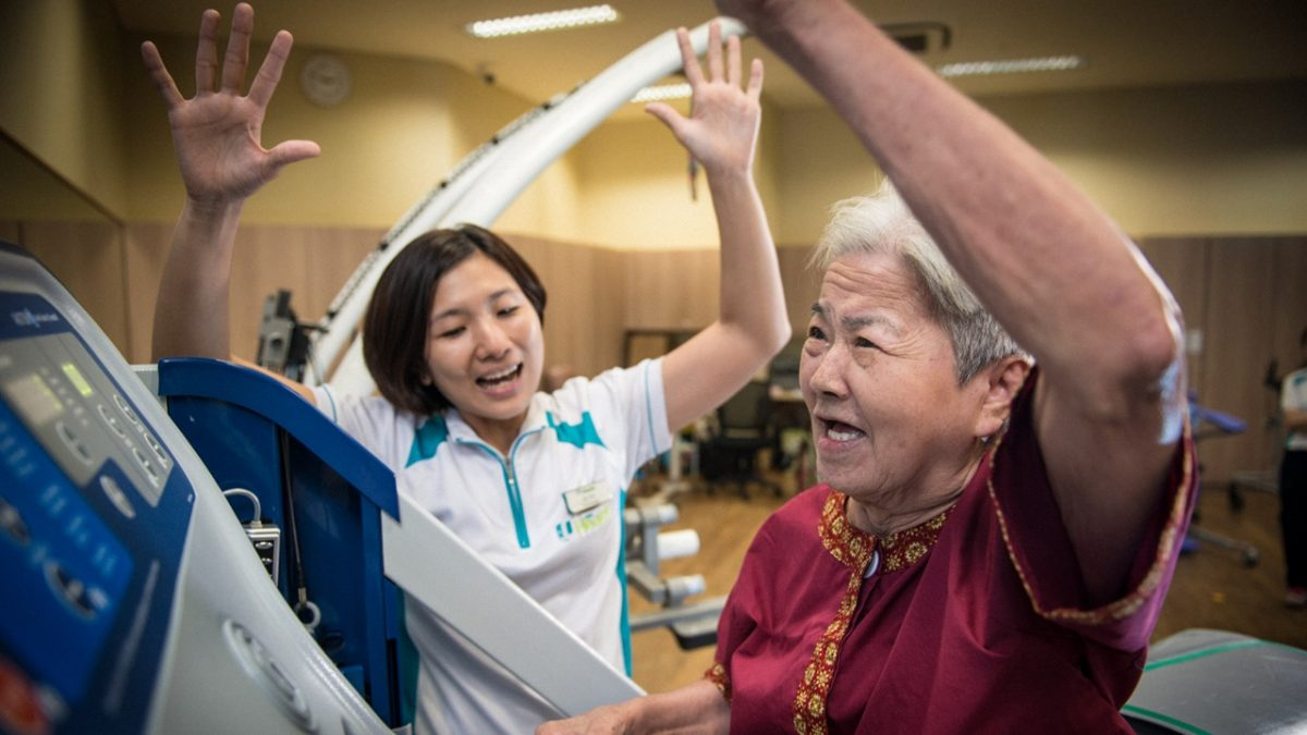 Technology helps give better care
