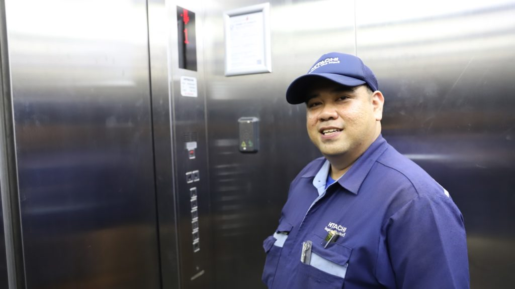 """In the lift industry, what's important is having a learning attitude because we need to keep up with the times or risk being left out,"" says Dickson"