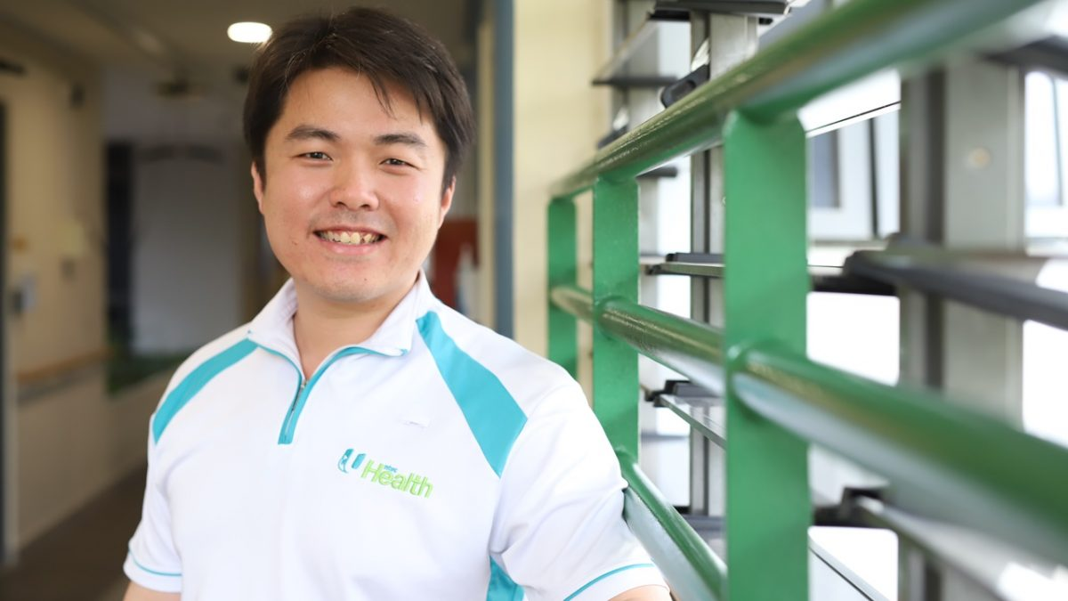 Technology is helping occupational therapists like Benjamin Lim better help patients.