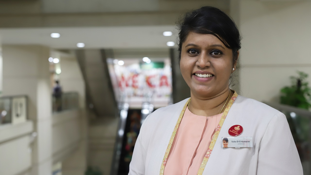 Having worked at Tan Tock Seng Hospital for 24 years, Suba Kumaran knows every inch of the hospital.