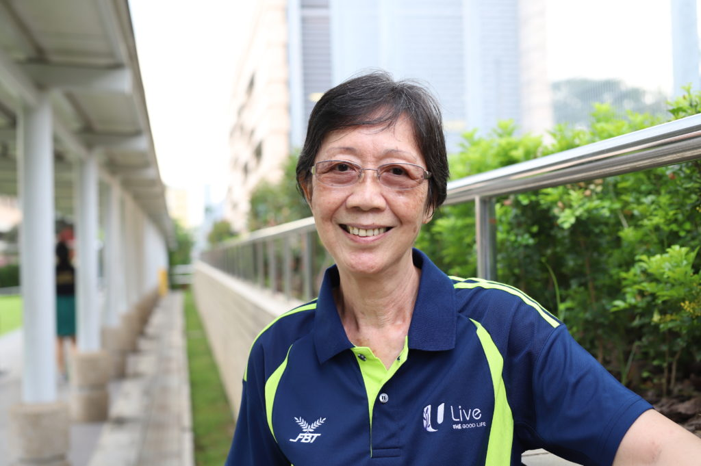 One can never be too long to master technology. Yoke Yin got her first smartphone when she retired aged 65 and has been keeping in touch with loved ones through Whatsapp.