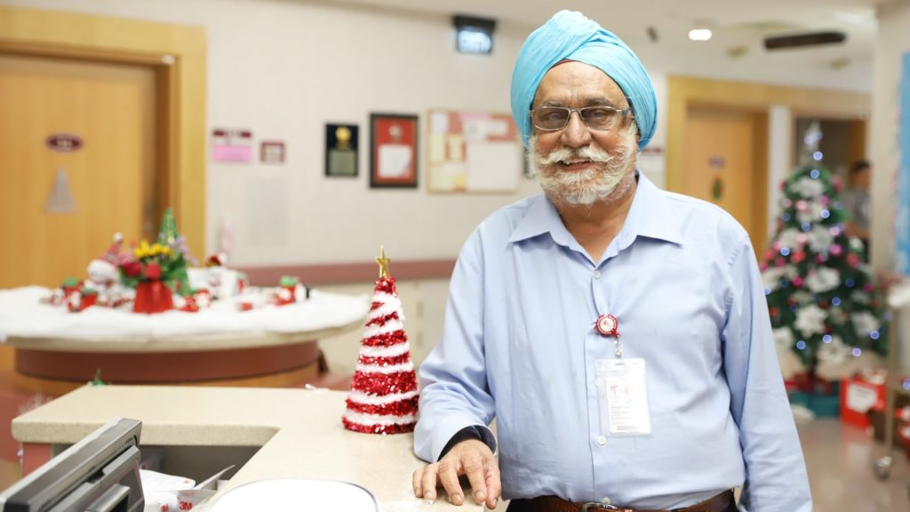 56 years of service as a nurse has seen Mr Singh serve at the frontlines during some of Singapore's worst medical crises, such as the Tuberculosis outbreak in the 1960s and the Severe Acute Respiratory Syndrome epidemic in 2003.