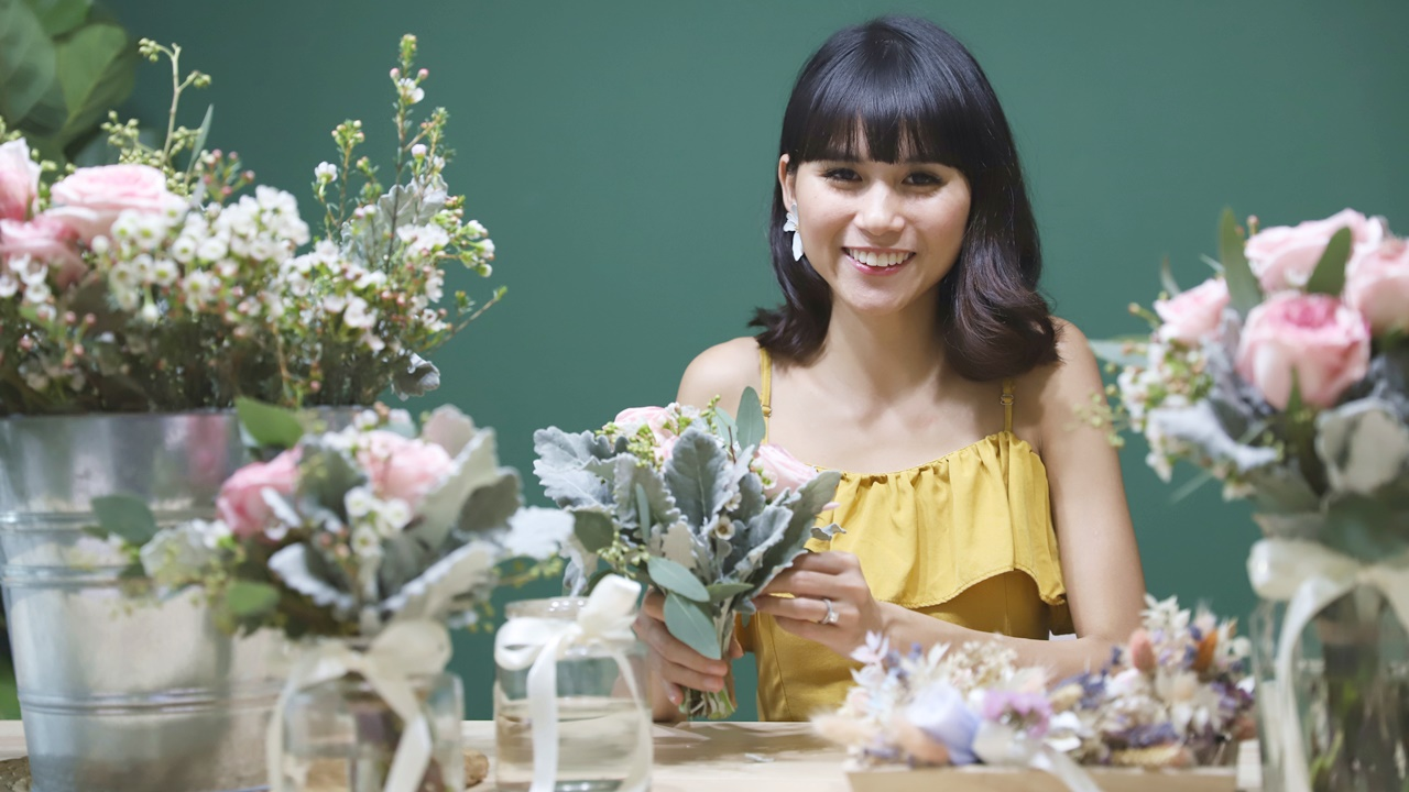 SkinnyBlooms founder Lenice Tan