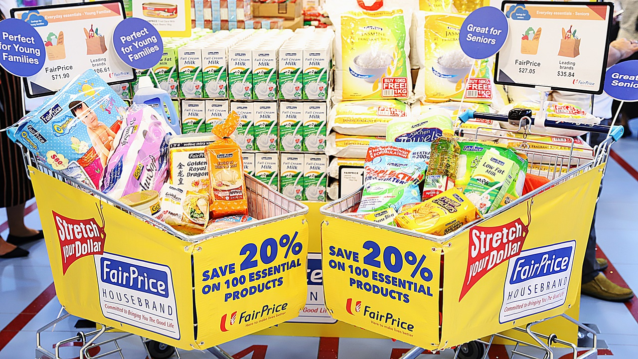 FairPrice announces two new initiatives to help consumers further stretch their dollar.