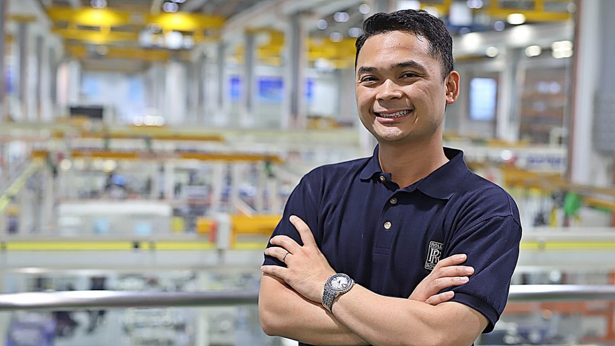 Muhamad Khairuddin has climbed the ranks with training and upgrading, supported by his company.