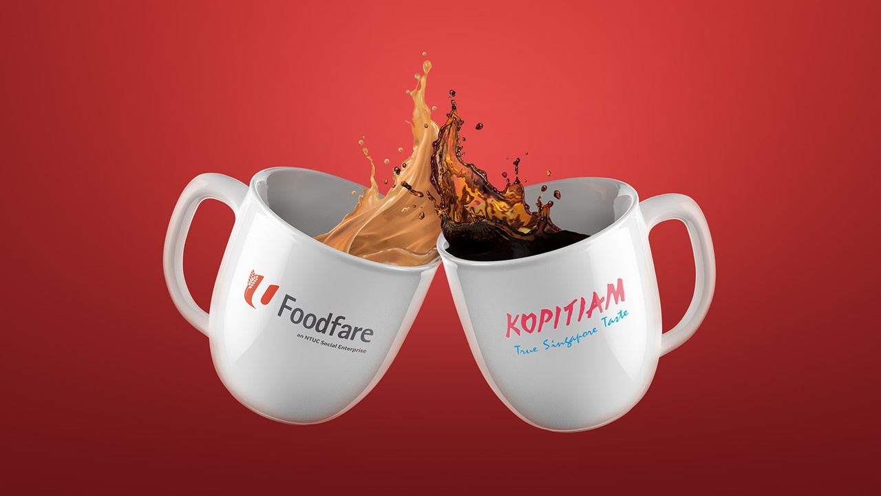 Kopitiam and NTUC Foodfare