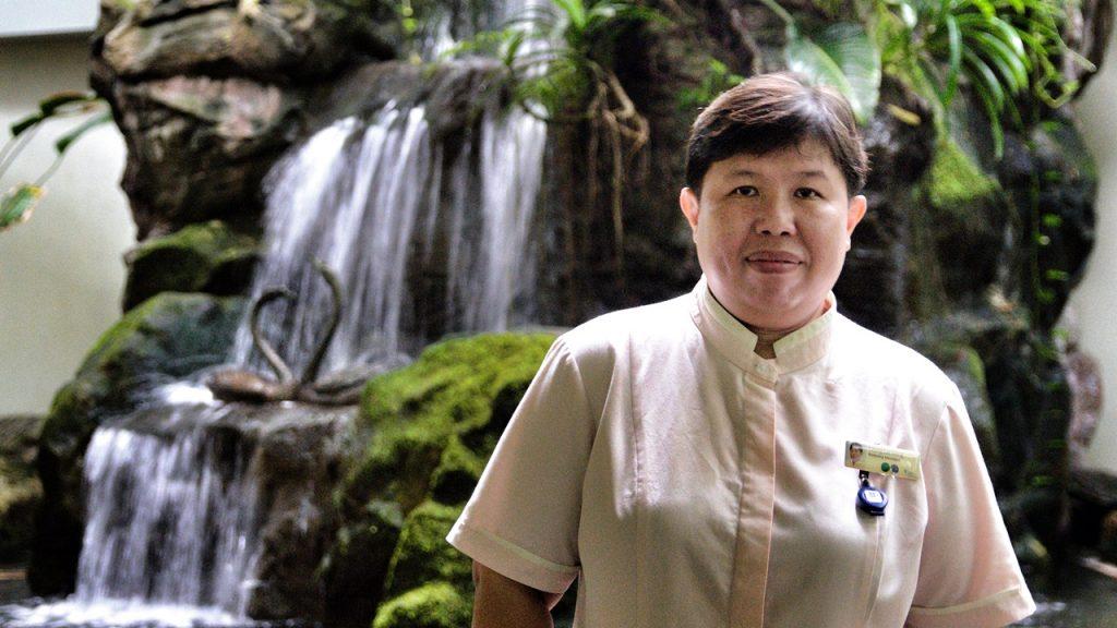 Leong Lai Hong, Khoo Teck Puat Hospital