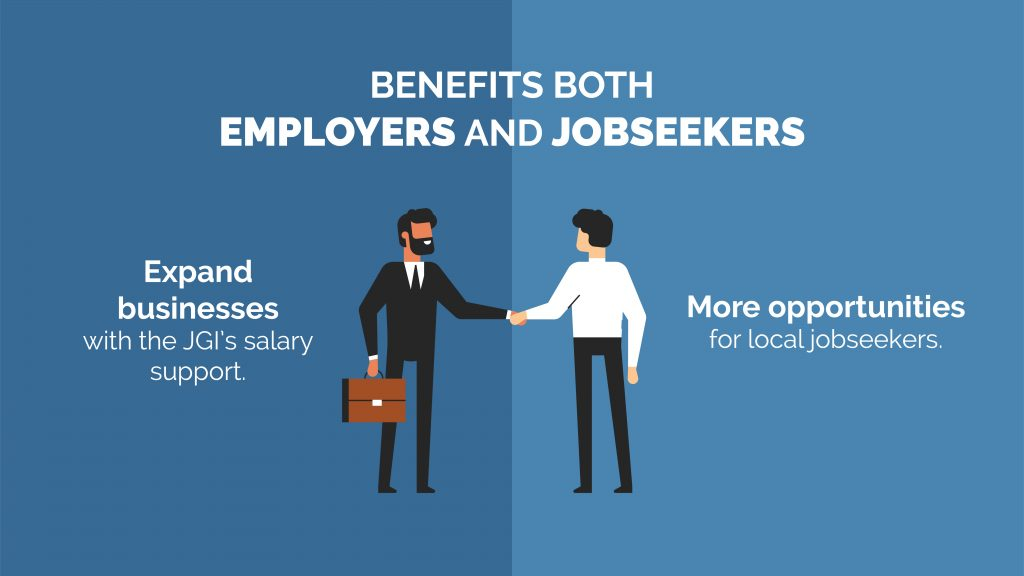 graphics; jobs growth incentive benefits both employers and jobseekers